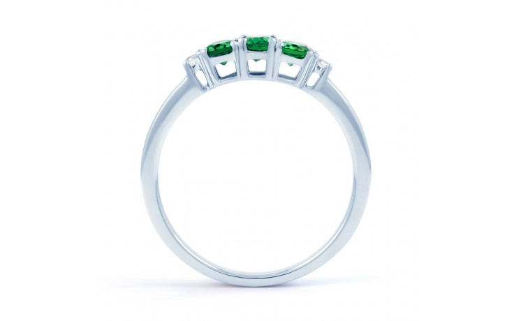 Emerald Trilogy Ring product image 3
