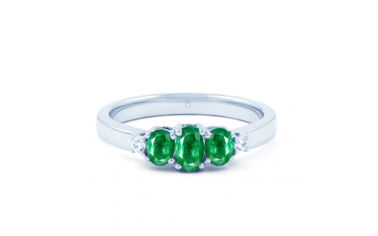 Emerald Trilogy Ring product image 1