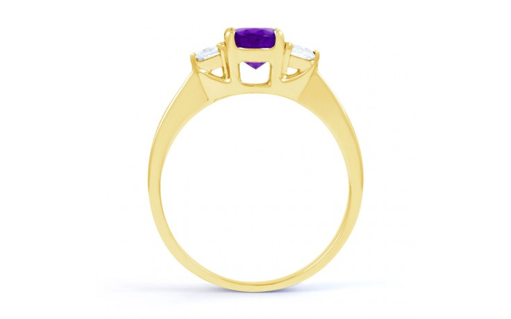 Paragon Amethyst Gold Ring product image 3