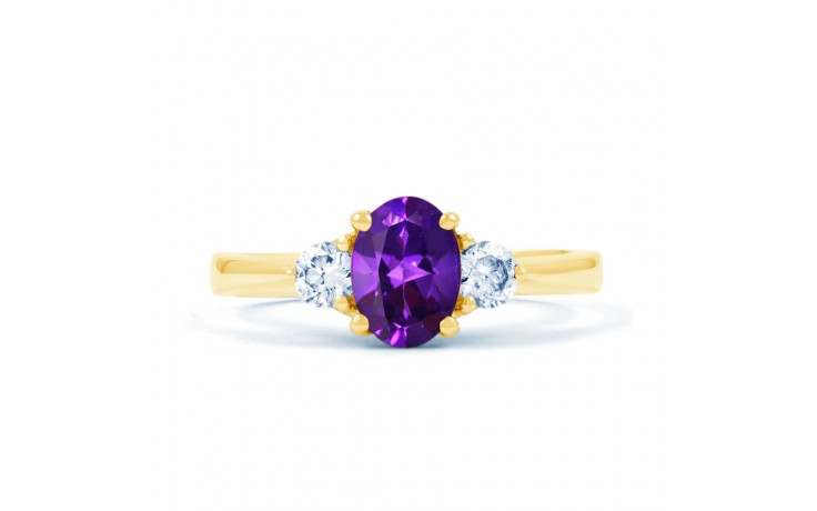 Paragon Amethyst Gold Ring product image 1