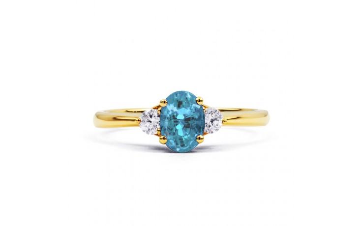 Paragon Aquamarine Ring In Gold product image 1