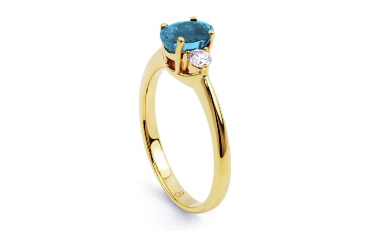 Paragon Aquamarine Ring In Gold product image 2