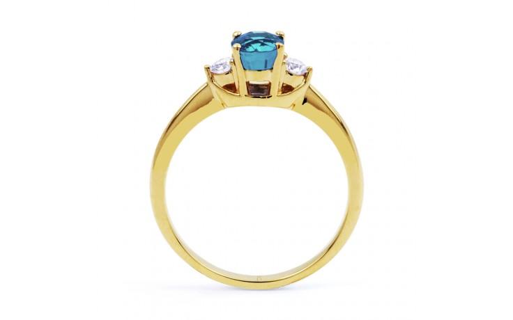 Paragon Aquamarine Ring In Gold product image 3