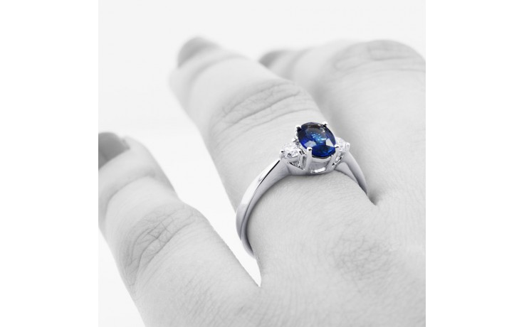 Paragon Blue Sapphire Ring product image 4