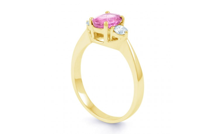 Paragon Pink Sapphire Gold Ring product image 2