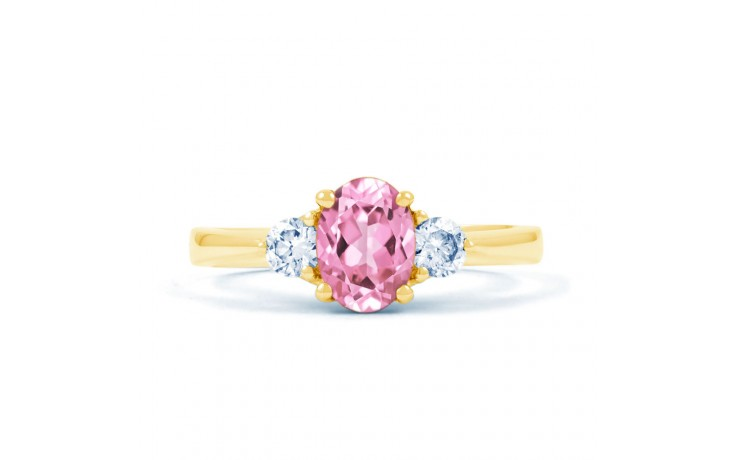 Paragon Pink Sapphire Gold Ring product image 1