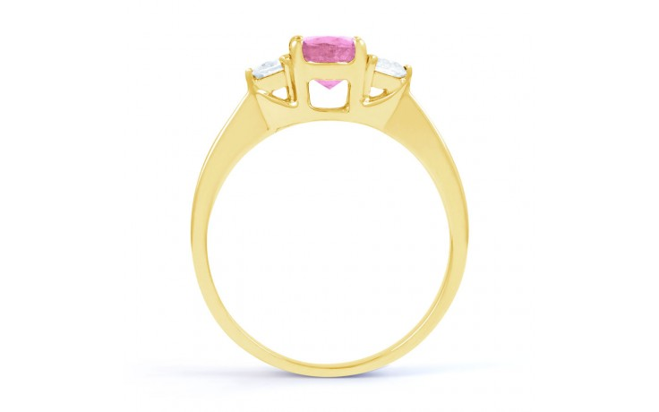 Paragon Pink Sapphire Gold Ring product image 3