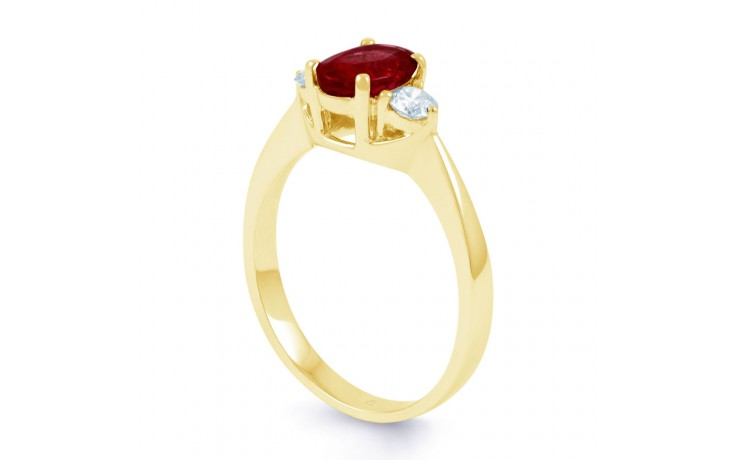 Paragon Ruby Gold Ring product image 2