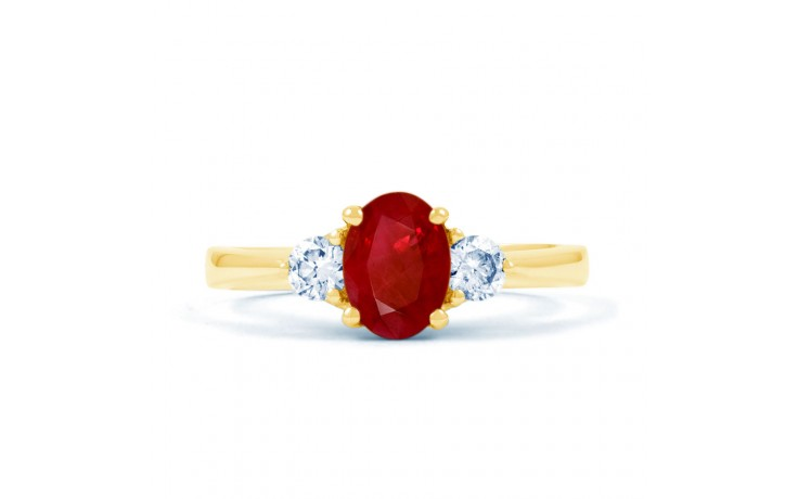 Paragon Ruby Gold Ring product image 1