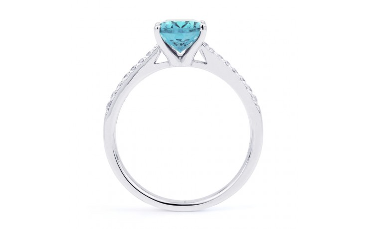 Arya Aquamarine Ring In White Gold product image 3