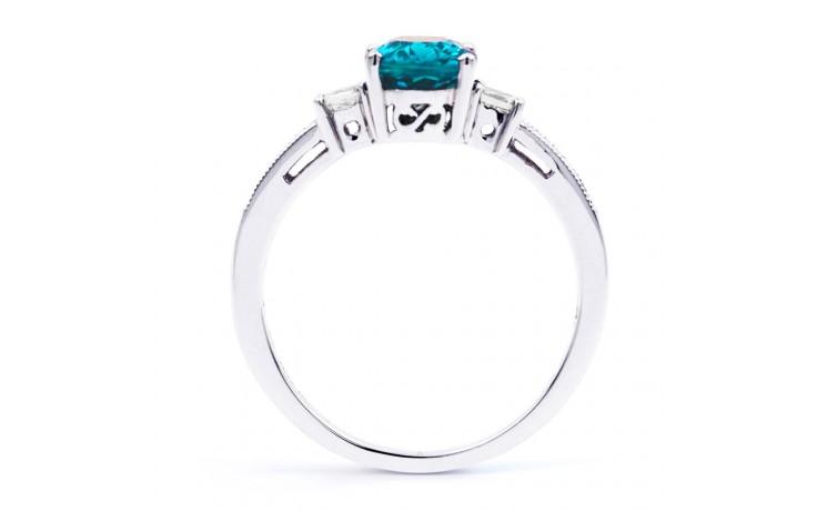 Arya Blue Topaz & Diamond Ring product image 3