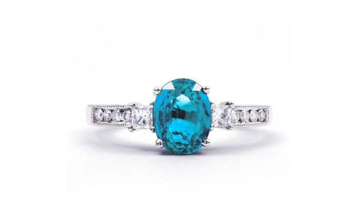 Arya Blue Topaz & Diamond Ring product image 1