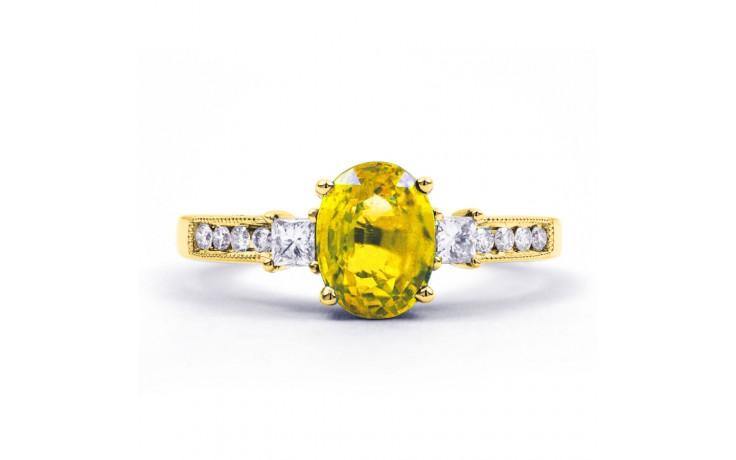 Arya Citrine & Diamond Gold Ring  product image 1