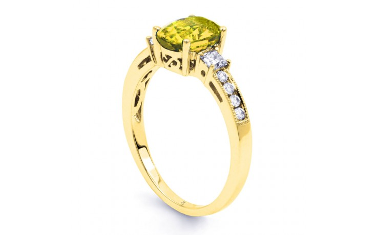 Arya Citrine & Diamond Gold Ring  product image 2