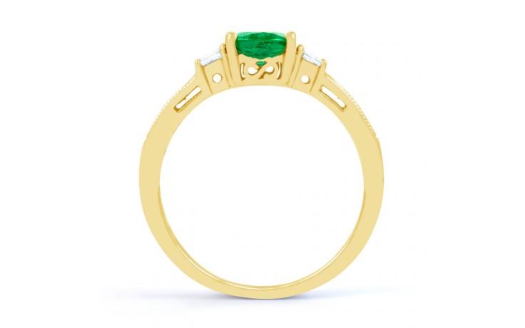 Arya Emerald Gold Ring  product image 3