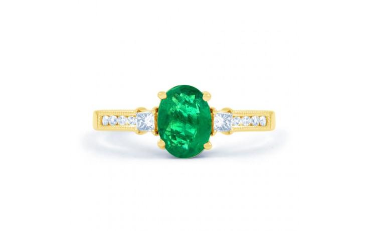 Arya Emerald Gold Ring  product image 1