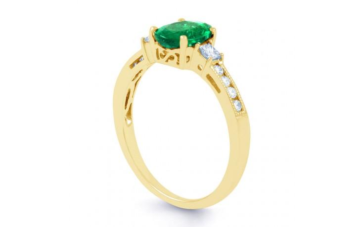 Arya Emerald Gold Ring  product image 2