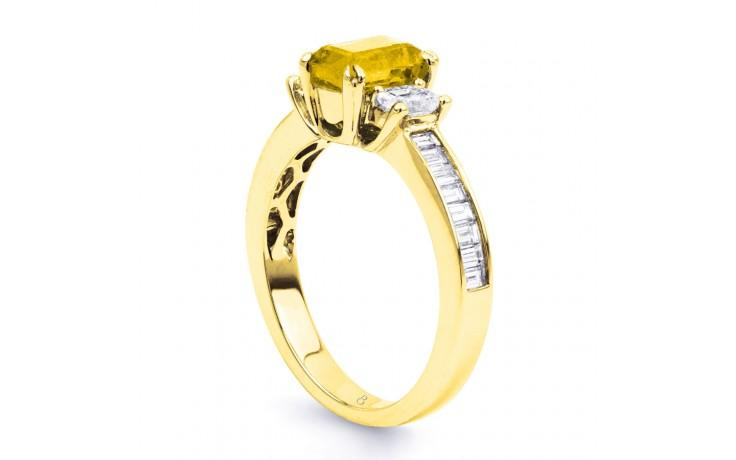 Devi Citrine & Diamond Gold Ring product image 2