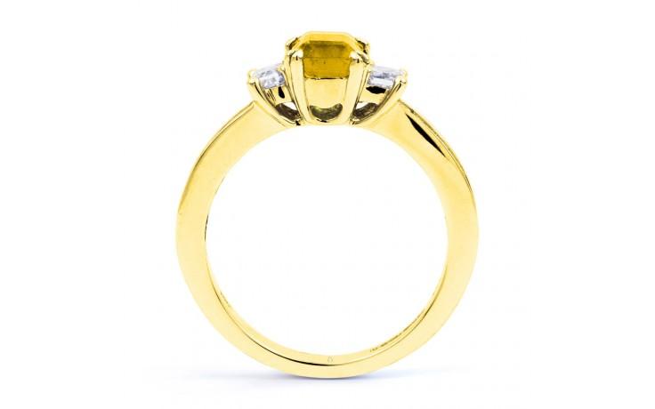 Devi Citrine & Diamond Gold Ring product image 3