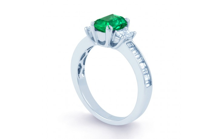 Devi Emerald Ring product image 2