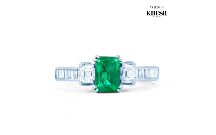 Devi Emerald Ring product image 1