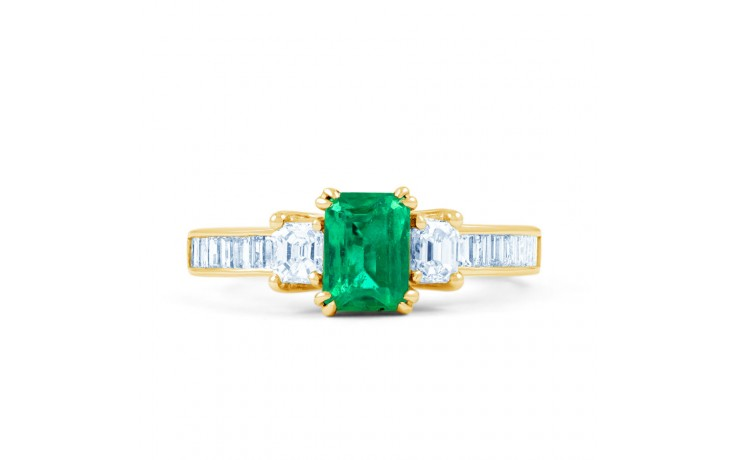 Devi Emerald Gold Ring product image 1