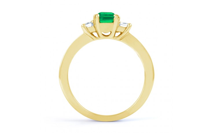 Devi Emerald Gold Ring product image 3
