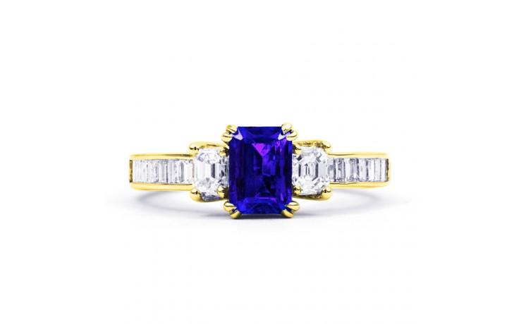 Devi Tanzanite Gold Ring product image 1