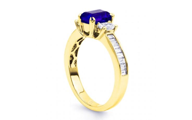 Devi Tanzanite Gold Ring product image 2