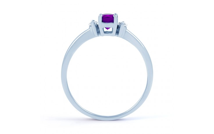 Rani Amethyst & Diamond Ring product image 3
