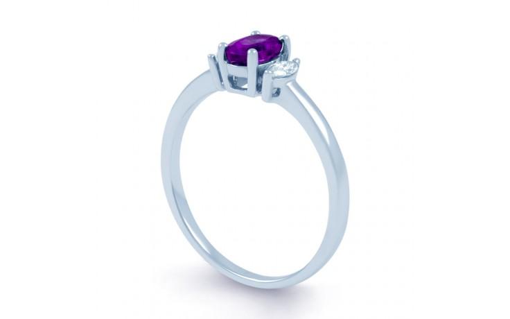 Rani Amethyst & Diamond Ring product image 2