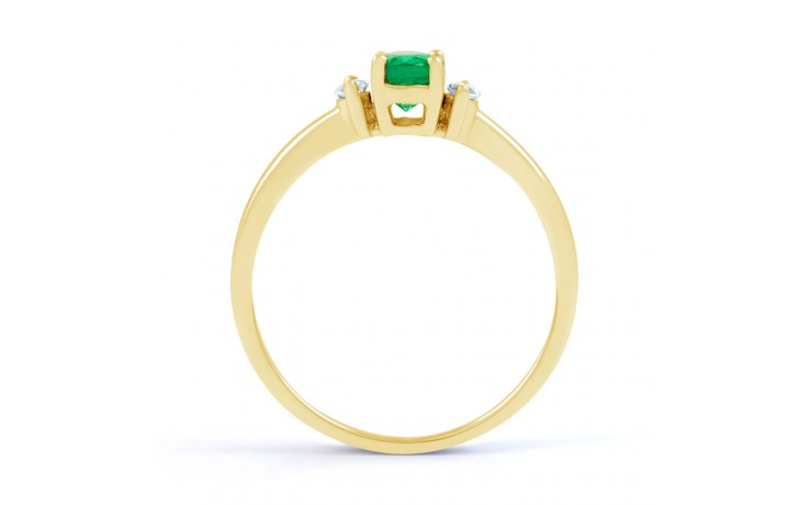 Rani Emerald Gold Ring product image 3