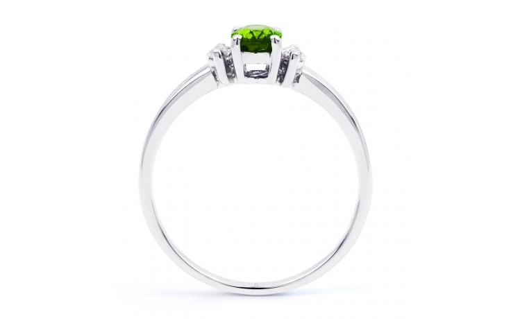 Rani Peridot & Diamond Ring product image 3