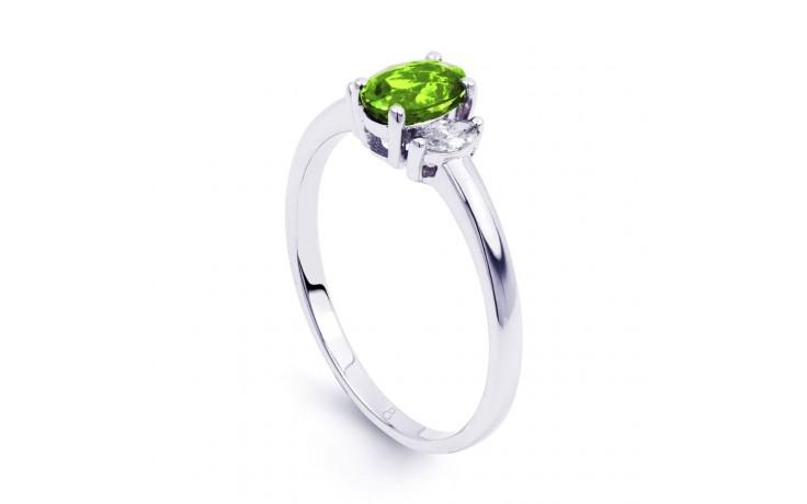 Rani Peridot & Diamond Ring product image 2