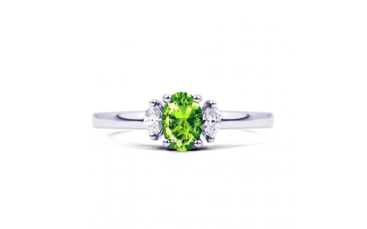 Rani Peridot & Diamond Ring product image 1