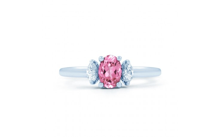 Rani Pink Sapphire White Gold Ring product image 1