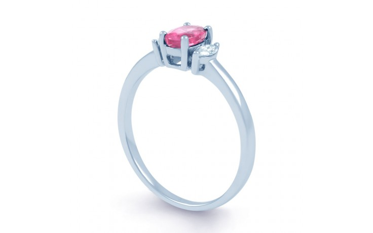 Rani Pink Sapphire White Gold Ring product image 2
