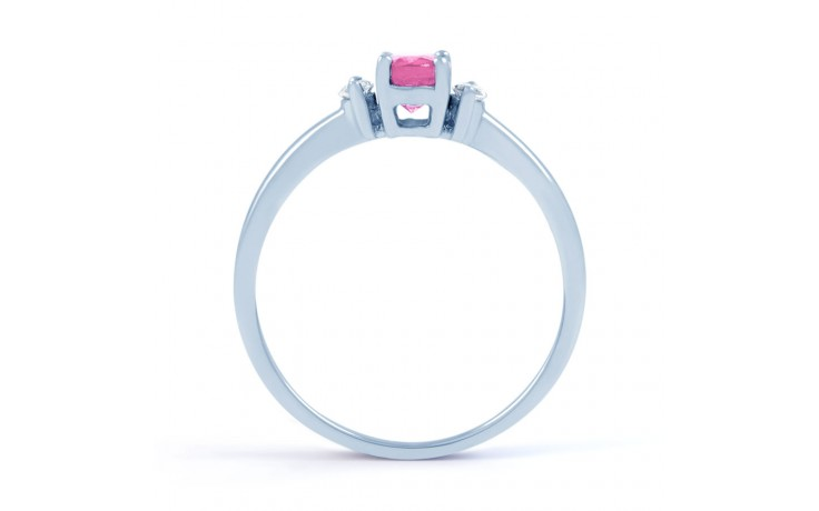 Rani Pink Sapphire White Gold Ring product image 3
