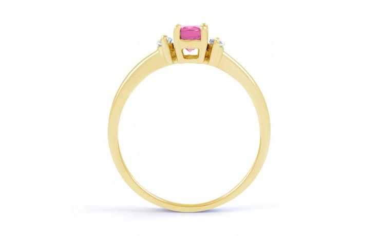 Rani Pink Sapphire Yellow Gold Ring product image 3