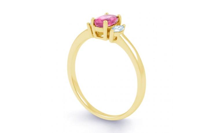 Rani Pink Sapphire Yellow Gold Ring product image 2