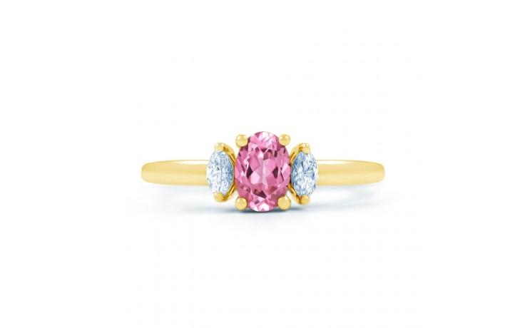 Rani Pink Sapphire Yellow Gold Ring product image 1