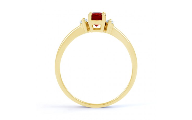 Rani Ruby Gold Ring product image 3