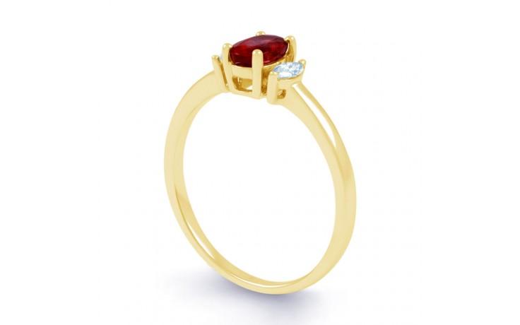 Rani Ruby Gold Ring product image 2