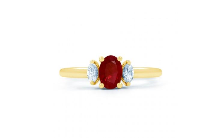 Rani Ruby Gold Ring product image 1