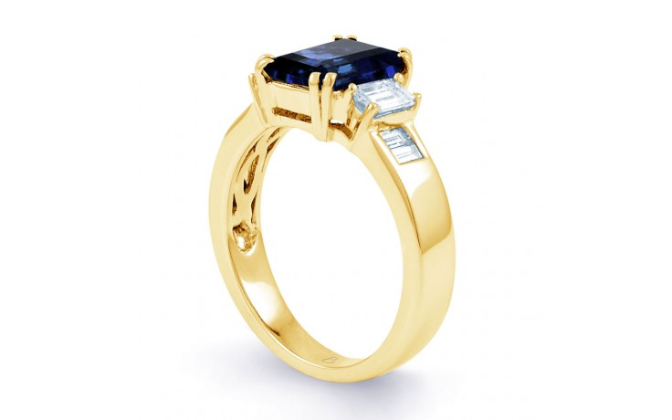 Aiko Blue Sapphire Gold Ring product image 2