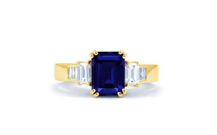 Aiko Blue Sapphire Gold Ring product image 1