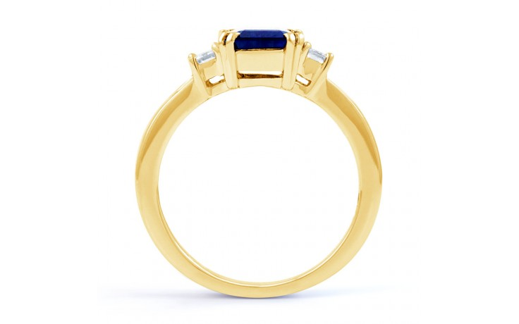 Aiko Blue Sapphire Gold Ring product image 3