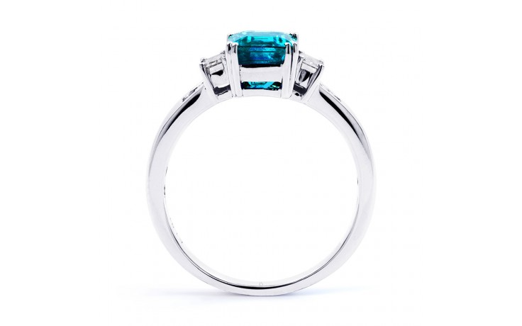 Aiko Blue Topaz & Diamond Ring product image 3