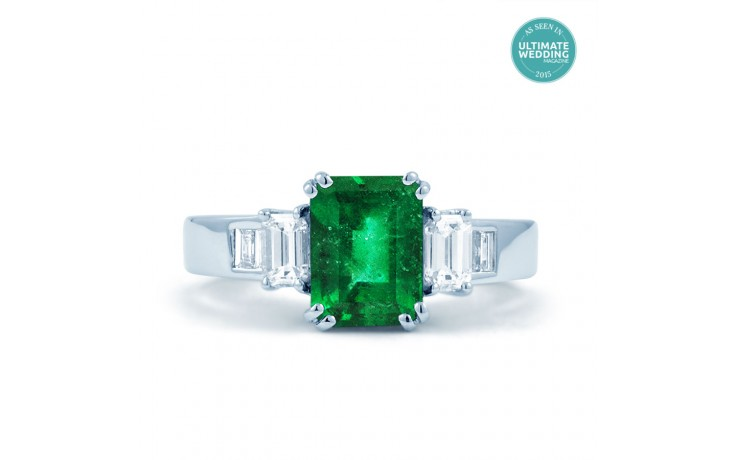 Aiko Emerald Ring product image 1