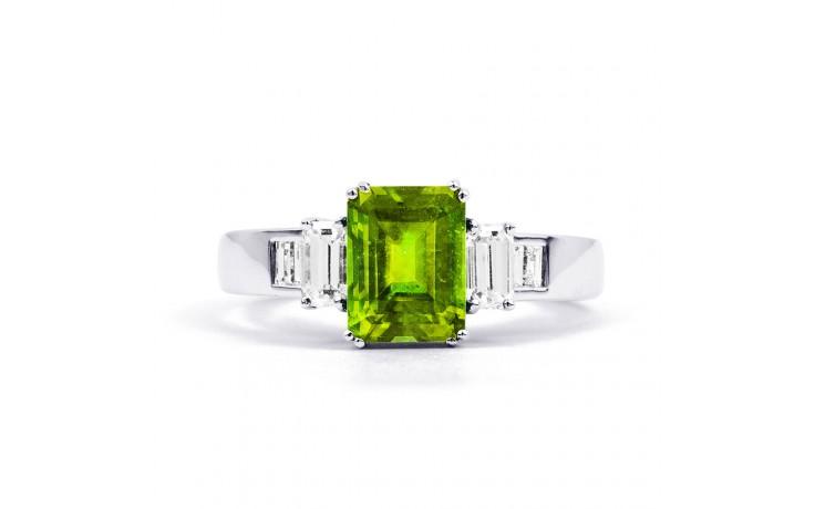 Aiko Peridot & Diamond Ring product image 1